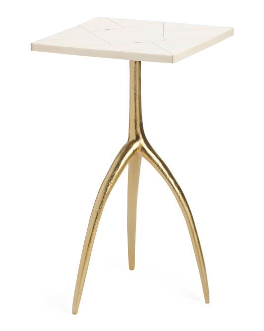 Elk Made in India Houblon accent table