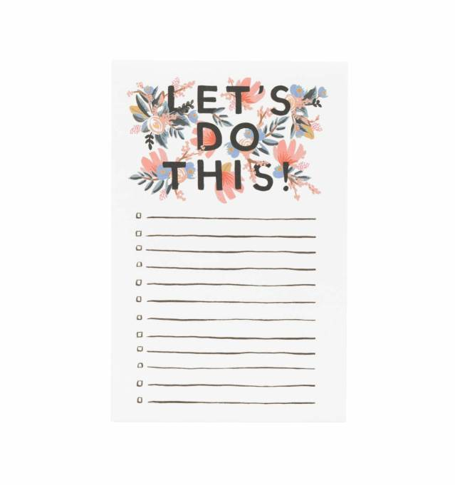 Rifle Paper Co. To Do List