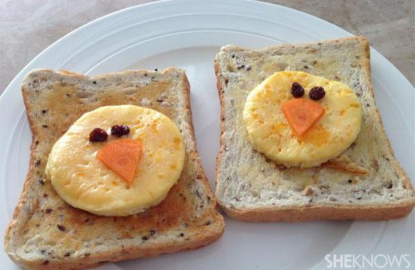 Fun kids recipe: Easter breakfast