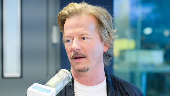 David Spade visits 'Radio Andy' at