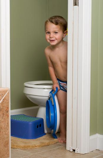 Differences between potty training and poopy