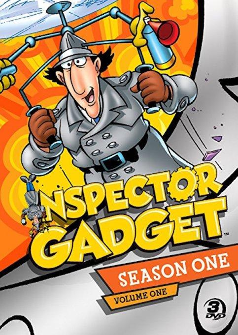 'Inspector Gadget' DVD art