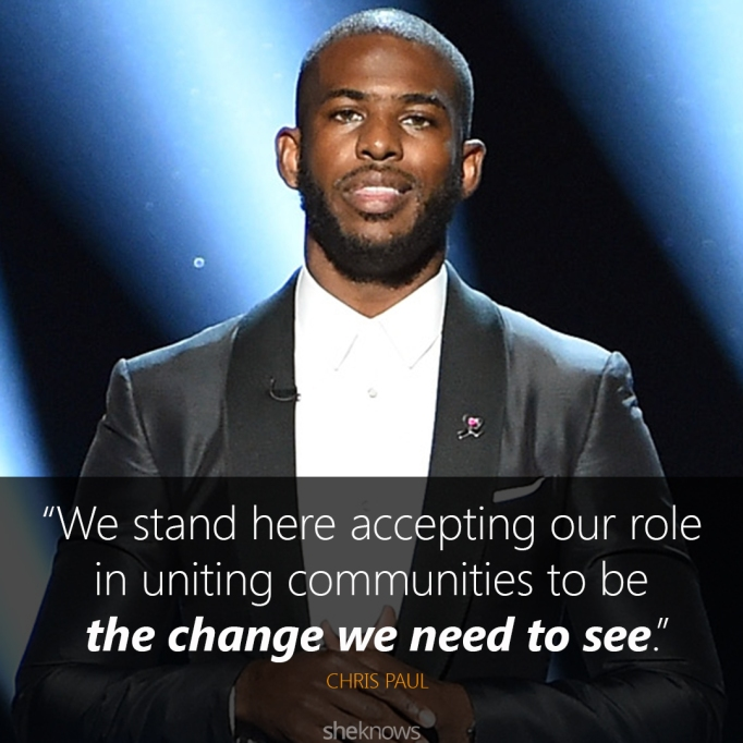 Chris Paul ESPYs 2016