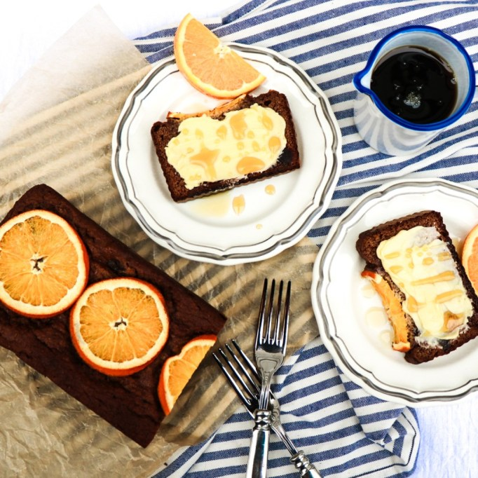 Winter fruit desserts: Dates sweeten this healthy orange loaf cake