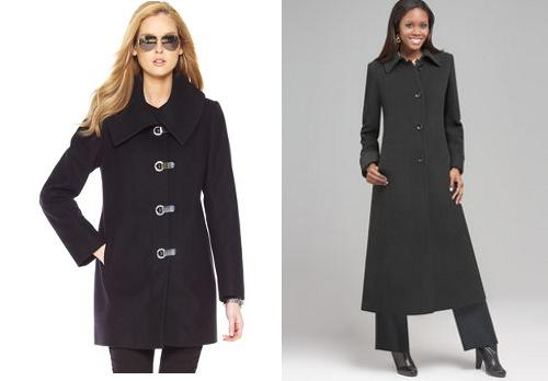 Best fall outerwear trends for apple-shaped