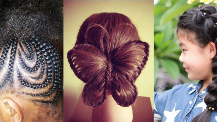 The braid ideas for little girls