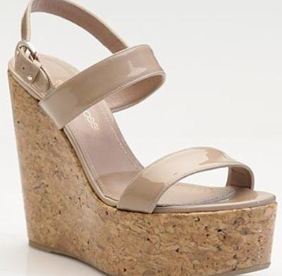 Hot trends: Cork wedges for spring