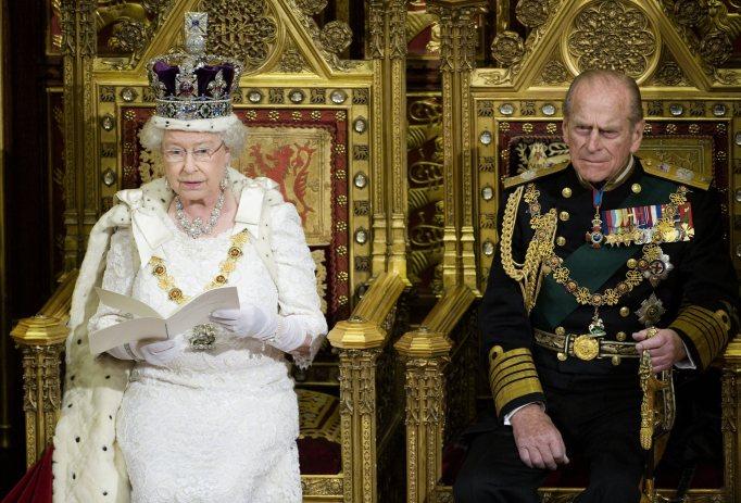 Queen Elizabeth II & Prince Philip in 2008