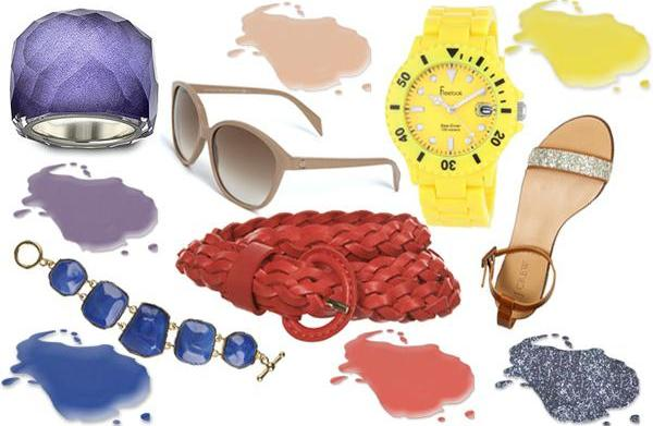 Accessories inspired by top nail color