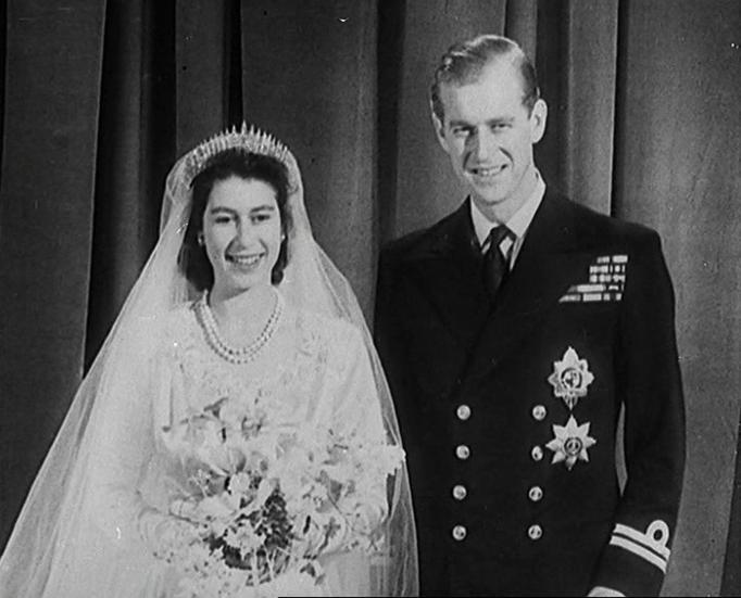 Queen Elizabeth II & Prince Philip wedding 1947