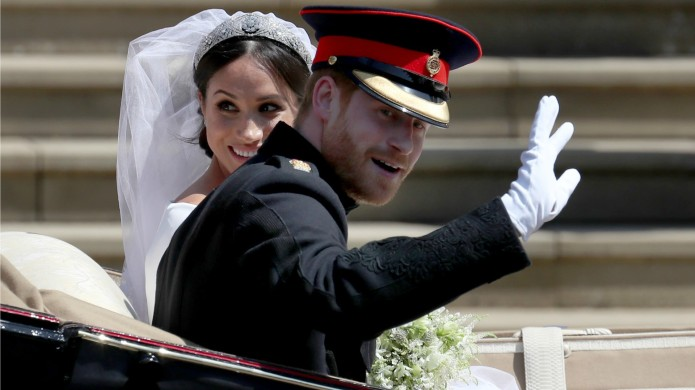 Prince Harry Took Off His Wedding