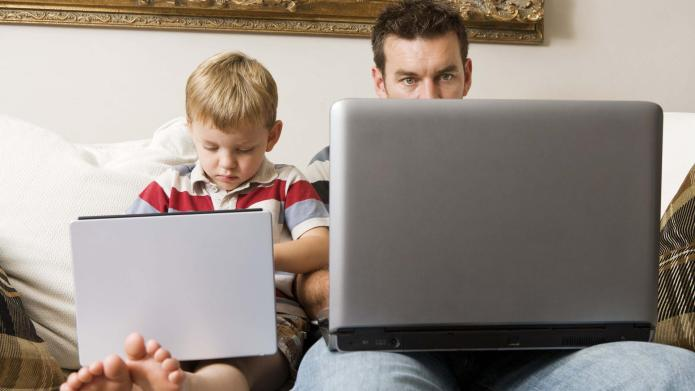 Is social media interfering with family