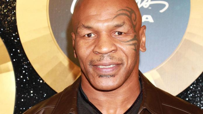 What is Mike Tyson doing on