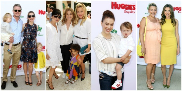 Celebrities at Baby2Baby and Huggies Every Little Bottom Party