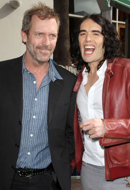 Hugh Laurie Russell Brand