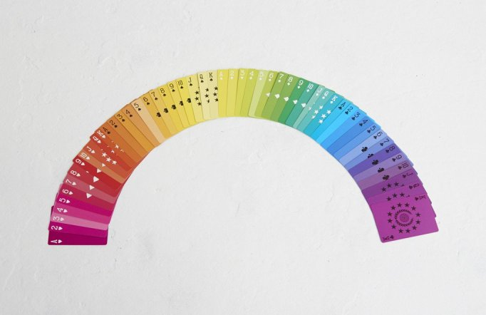 Fredericks & Mae Rainbow Playing Cards