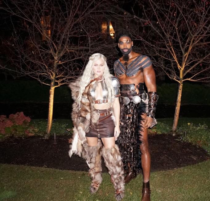 Best celebrity Halloween costumes 2017: Khloe Kardashian & Tristan Thompson