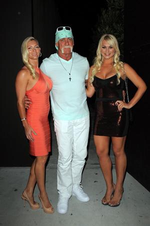 Hulk Hogan, Jennifer McDaniel and Brooke Hogan