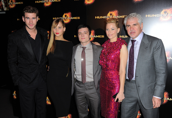 Hunger Games cast, Ross (right)