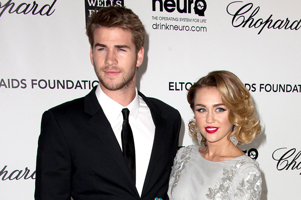 How are Miley and LIam post-Hunger Games filming?
