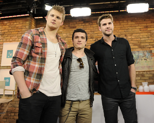 Hunger Games cast in Toronto