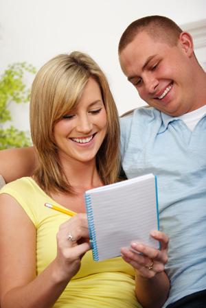Husband and Wife Making List
