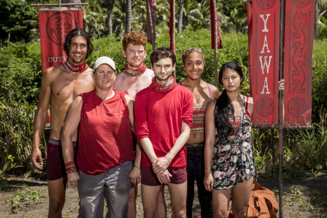 Hustlers tribe on Survivor: Heroes Vs. Healers Vs. Hustlers