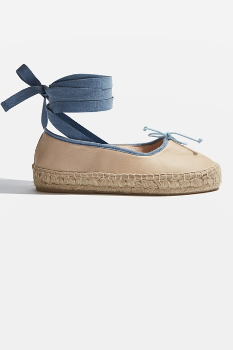Espadrilles To Scoop Up ASAP | Kastle Lace Up Espadrille