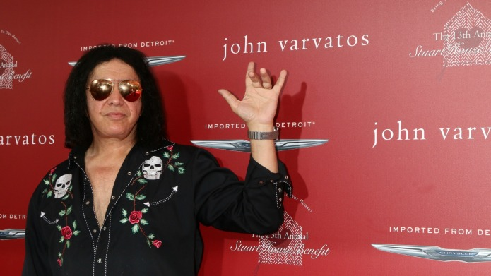 We still can't believe Gene Simmons