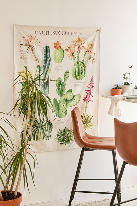 Cactus Reference Tapestry