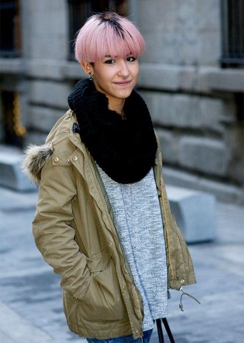 Stunning Ways To Style Short Hair   Pink Bowl Cut