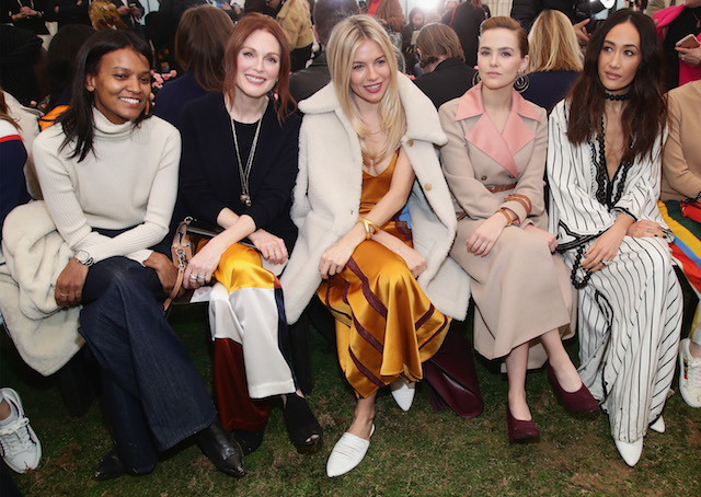 NYFW 2018 Celebrity Sightings: Front Row at Tory Burch