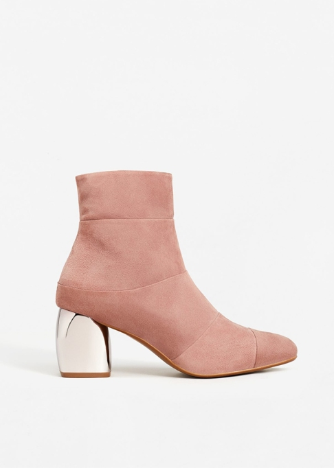Fall Boots To Shop Before They Sell Out: Mango Mirror Heel Ankle Booties | Fall Fashion Trends 2017