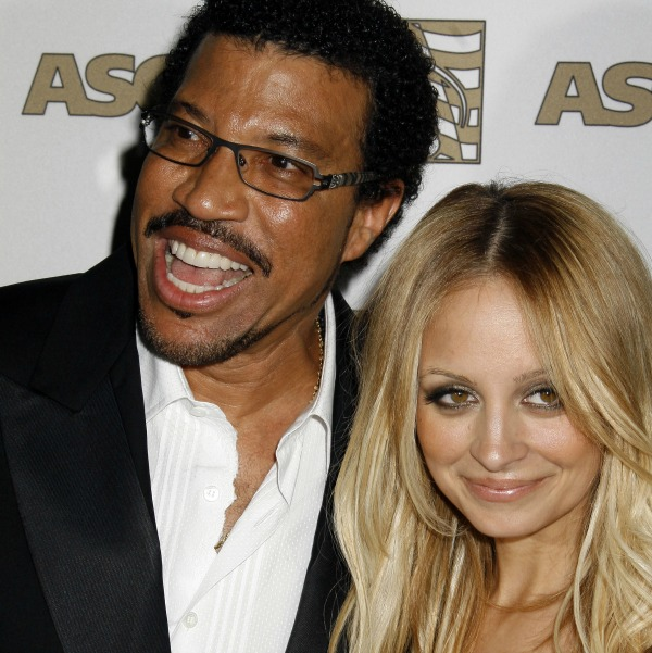 Celebrities with famous fathers: Nicole Richie & Lionel Richie