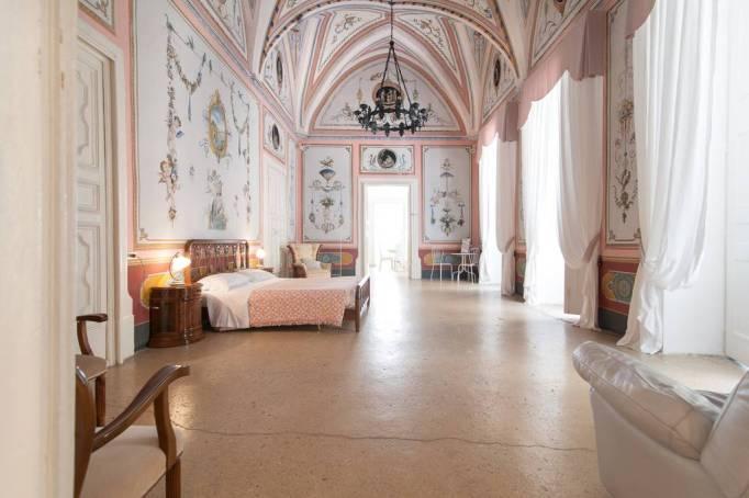 Italian apartment hallway