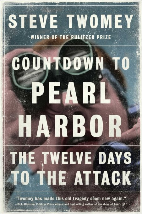 'Countdown to Pearl Harbor' Steve Twomey book cover