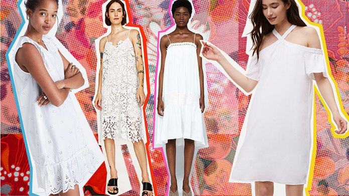 15 White Dresses to Wear This