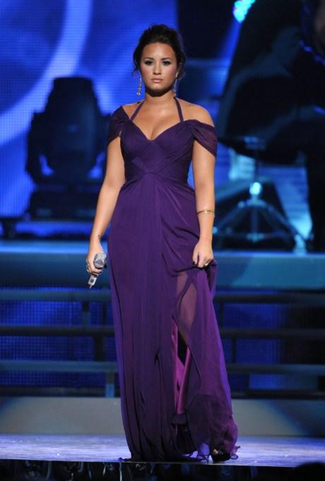 Ultra Violet On The Red Carpet | Demi Lovato