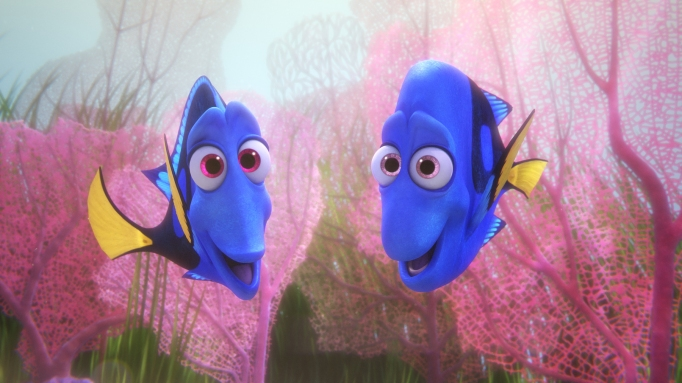 Finding Dory's animators studied real fish
