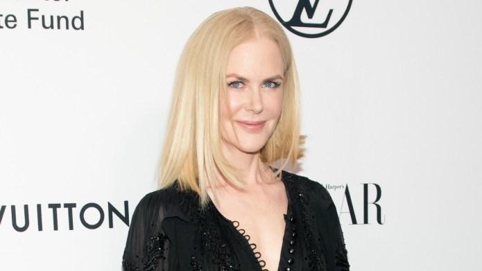 Nicole Kidman Is Unrecognizable With Short,