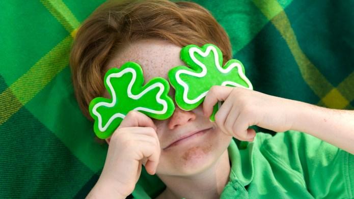 Boy Leprechaun, Smiling Irish Child &