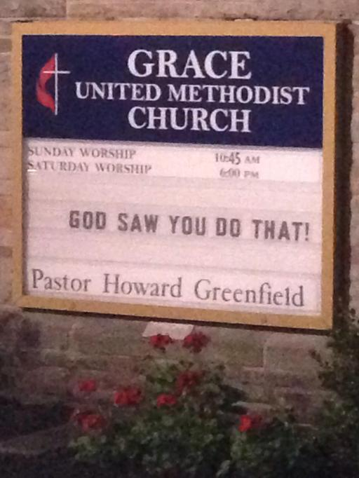 Church signs so funny that it might be a sin – SheKnows