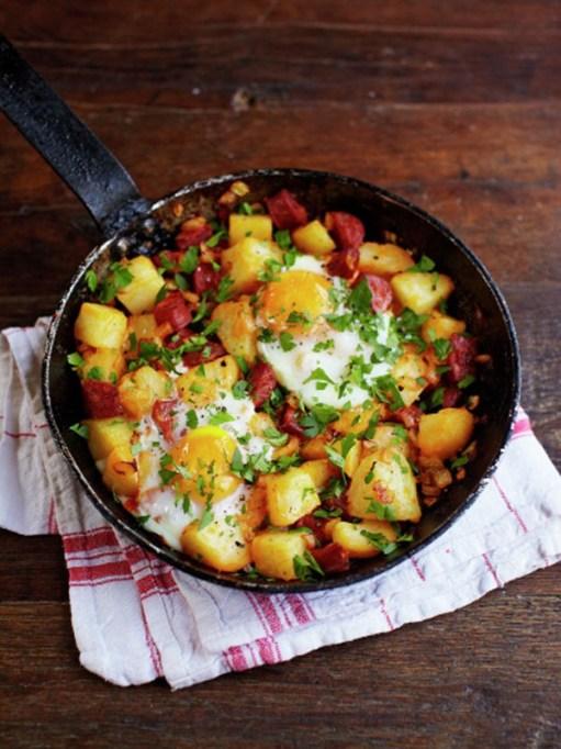 Easy Winter Breakfast Ideas | Potato And Chorizo Breakfast Hash