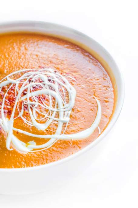 10 Soups You Can Make in a Slow-Cooker: butternut squash soup