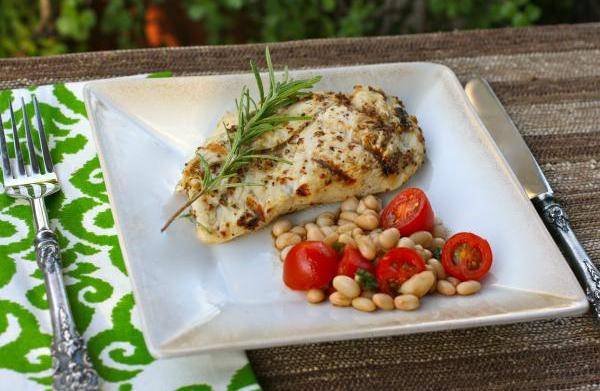 Sunday dinner: Grilled chicken with Dijon