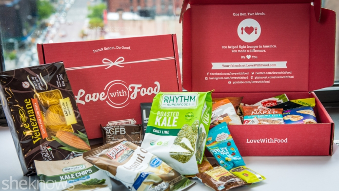 Love With Food: energizing snacks to