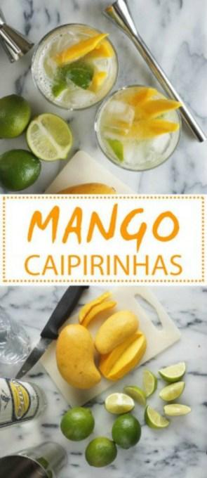 Mango Caipirinhas