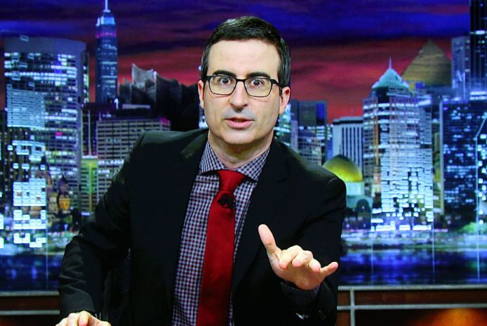 John Oliver is mad as hell