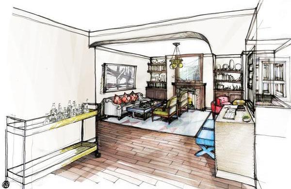 Courtney's Corner: Creating floor plans