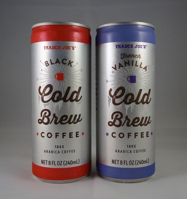 Trader Joe's Black Cold Brew Coffee